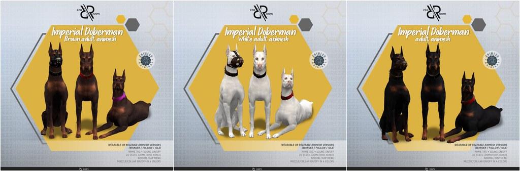 [REZZ ROOM]IMPERIAL DOBERMAN ANIMESH V2