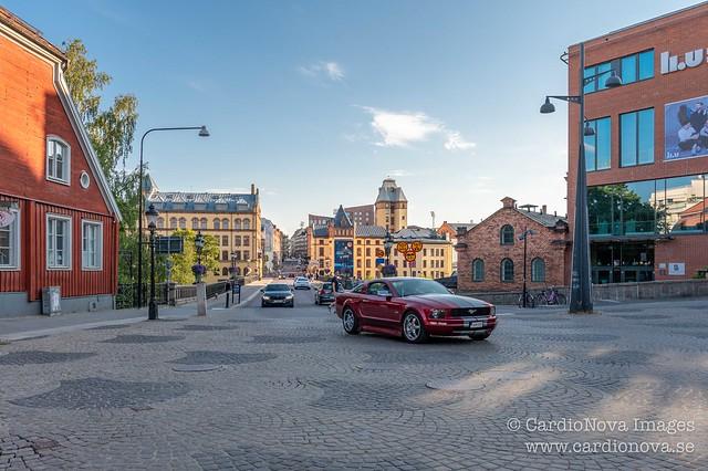 Gossip square in Norrköping, Sweden