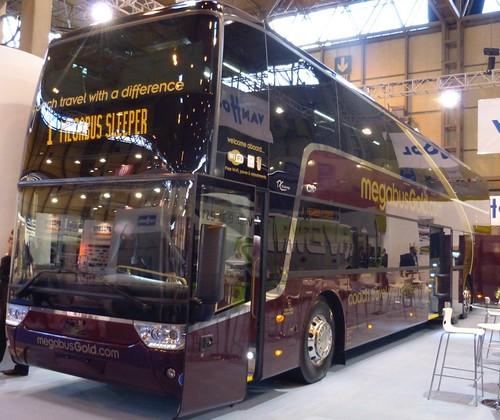 'VanHool 'Astromega' 'Stagecoach Western Buses Ltd' 'megabusGold.com.' on Dennis Basford's railsroadsrunways.blogspot.co.uk'