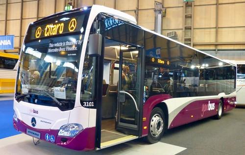 BD64 NBO 'yourbus No. 3101. Mercedes-Benz Citaro on Dennis Basford's railsroadsrunways.blogspot.co.uk'