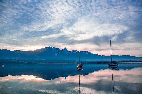 Thunersee Abend 2 Boote | by Bugtris
