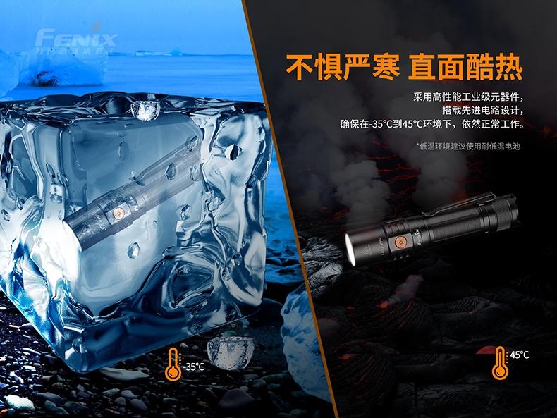 Fenix LD32 UVC 1200流明  LITEON 10mW UV-C LED -10