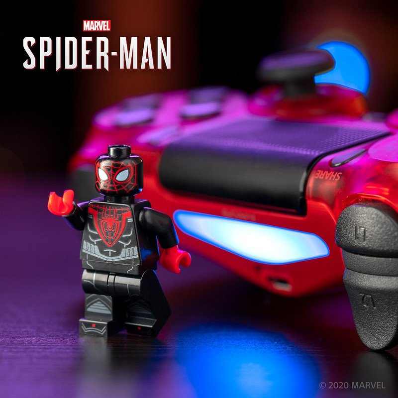 LEGO PS4 Spider-Man Minifigure