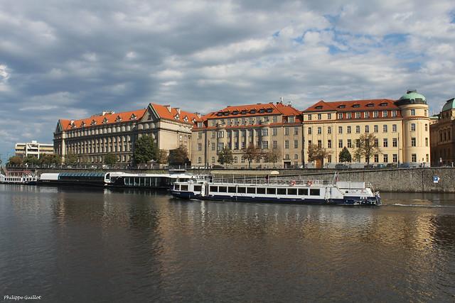 Au bord de la Vltava
