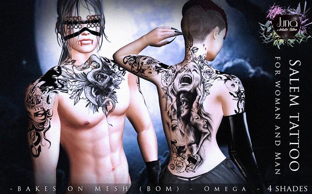 Salem tattoo Unisex