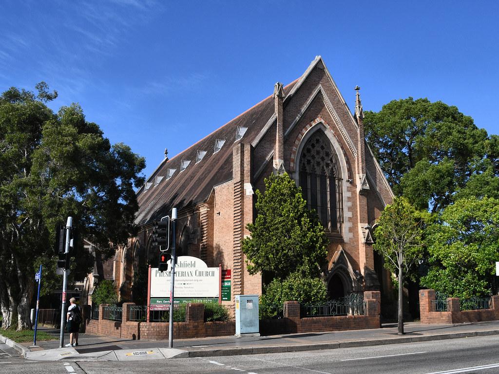 Presbyterian Church, Ashfield, Sydney, NSW.