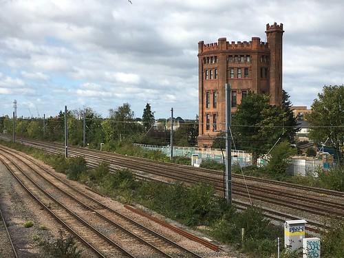 southall suburbia westlondon london watertower railway urban