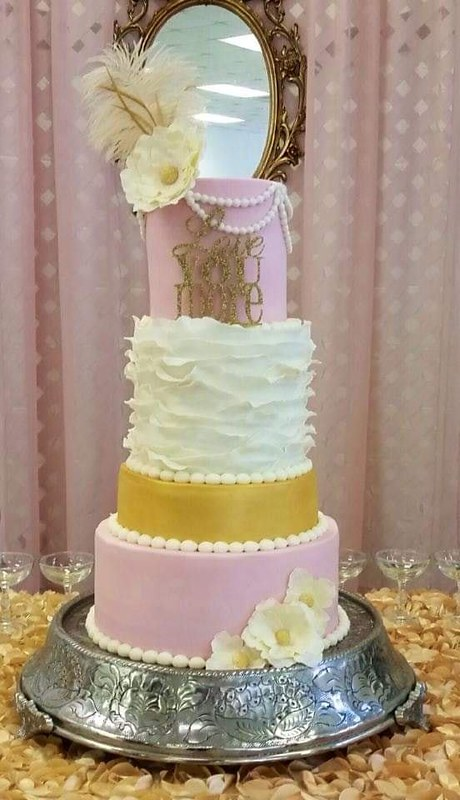 Cake by Sweet Chic Cupcakes