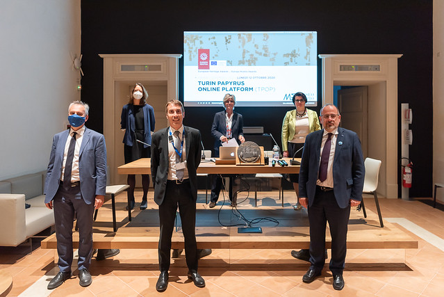 2020 Ceremony for the Turin Papyrus Online Platform (TPOP), Italy