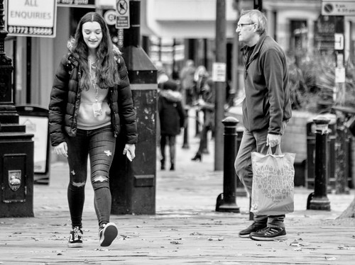People watching in Preston | by Tony Worrall