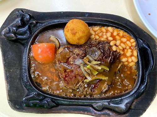 Black Pepper Ribeye Steak
