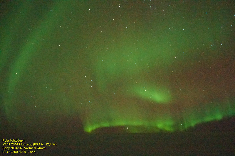 Aurora Flight to Iceland