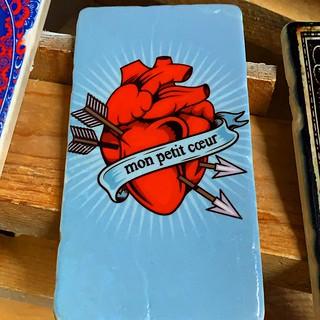 #heart #coer #red #blue #marbletile