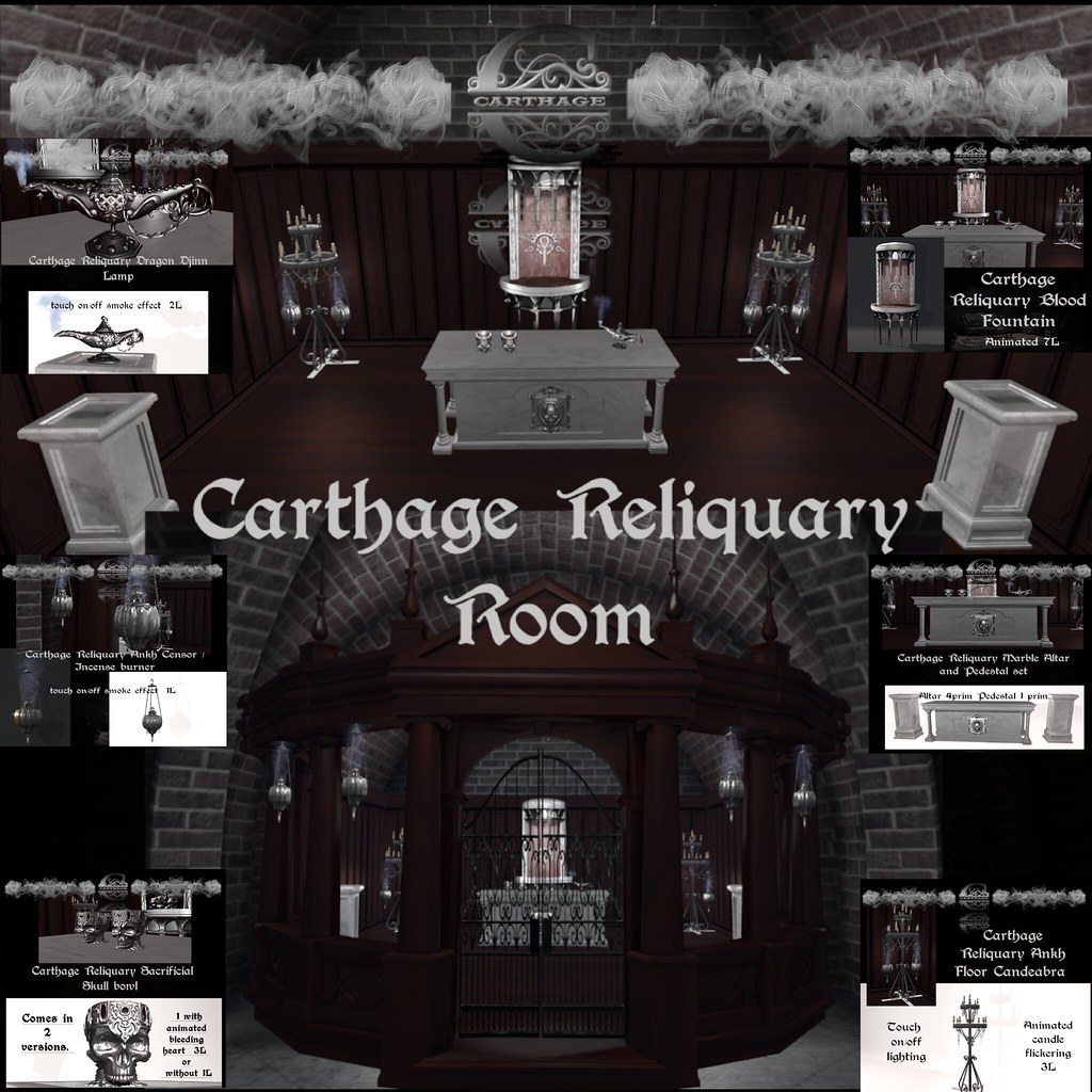 Carthage Reliquary release @Hallow Manor