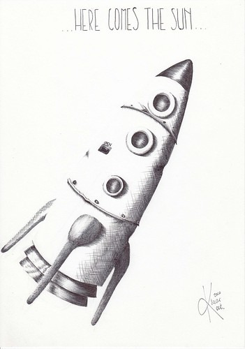 Day 16 inktober: Rocket.
