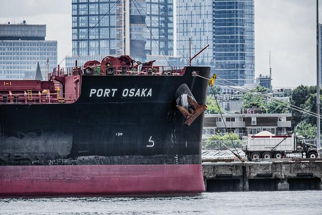Port Osaka--Bow