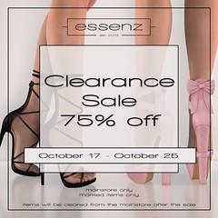 Essenz - Clearance Sale
