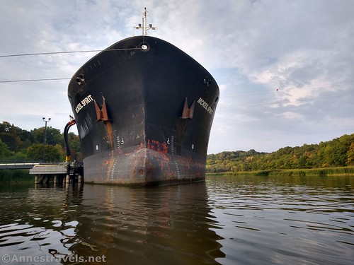 The McKeil Spirit - a laker delivering supplies to the cement factory, Rochester, New York