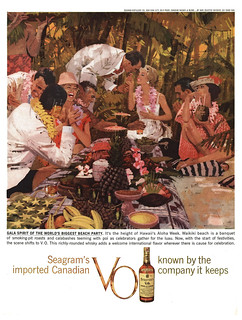 Seagram's, 1959 ad | by gameraboy