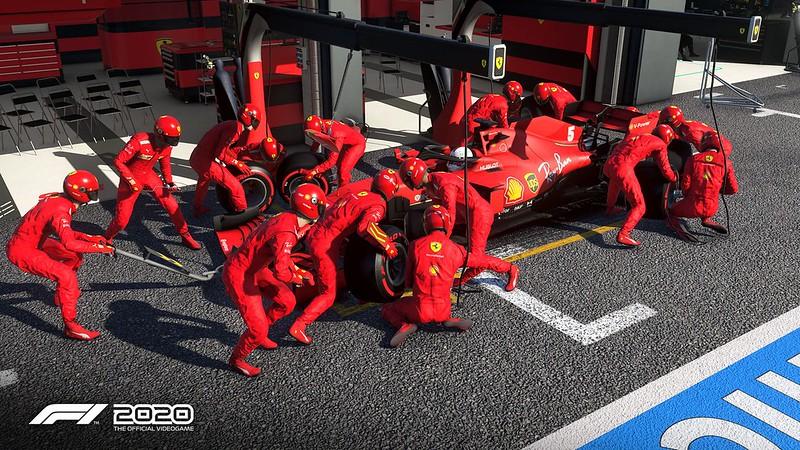 Updated Ferrari liveries