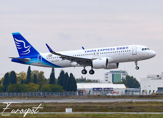 F-WWDK Airbus A320 Neo China Express