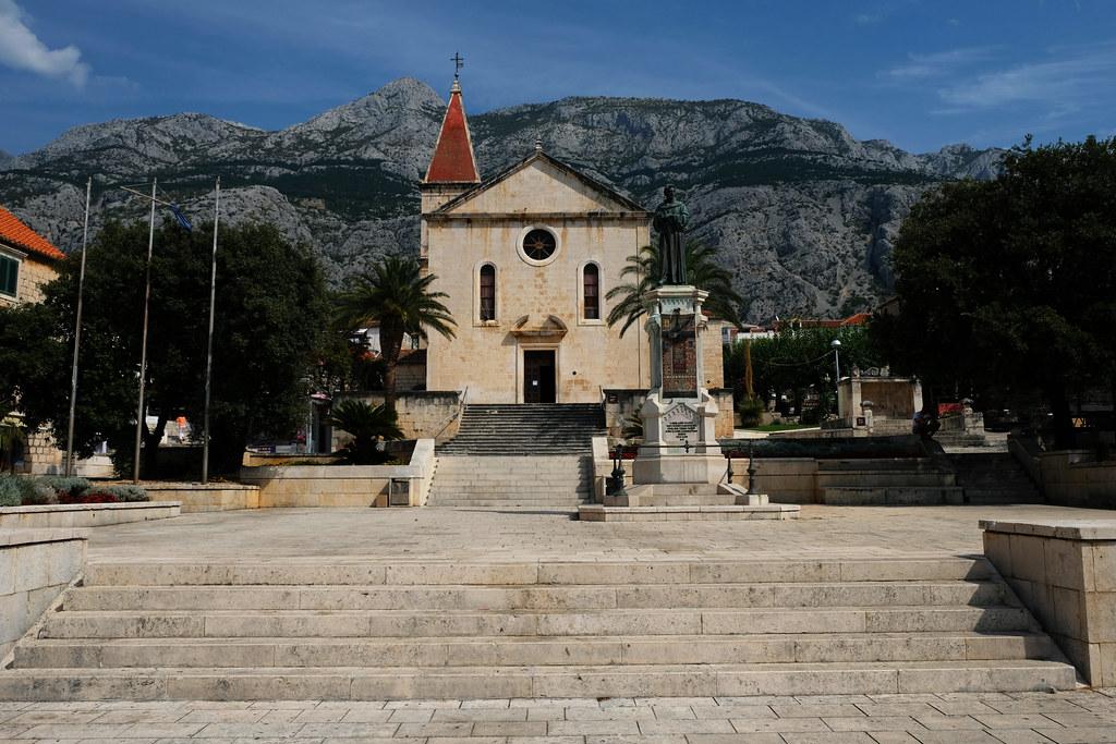 Kačić Square, Makarska, Croatia