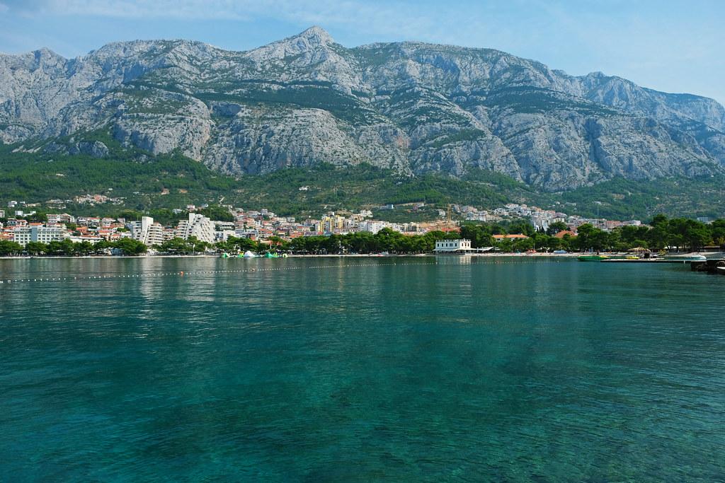 Makarska Main Beach, Croatia