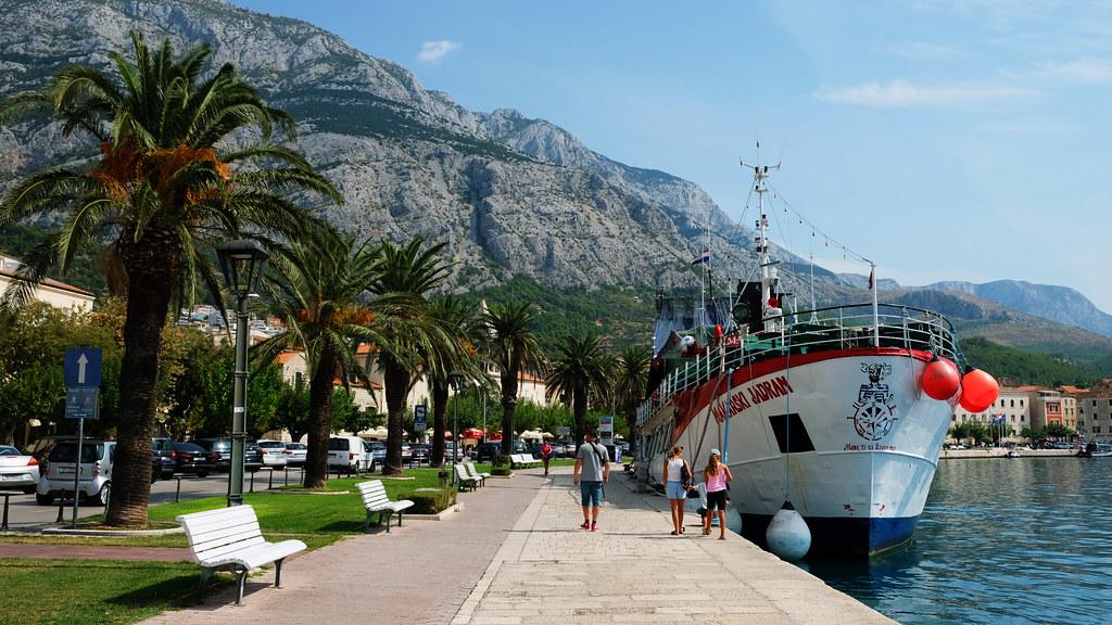 Makarska Harbor, Croatia