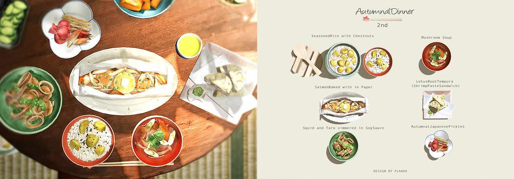 Autumnal Dinner 2nd