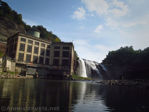 Lower Falls and the Hydroelectric Plant, Rochester, New York
