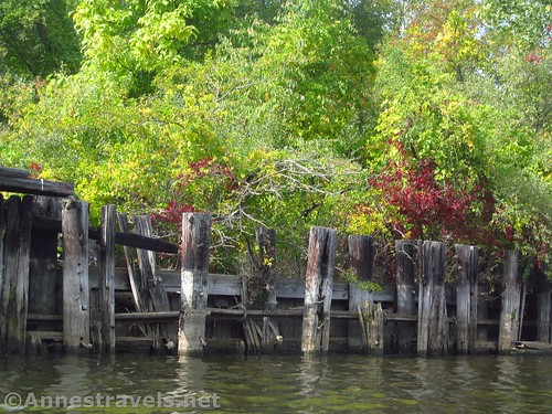 Rotting docks near Turning Point Park, Rochester, New York