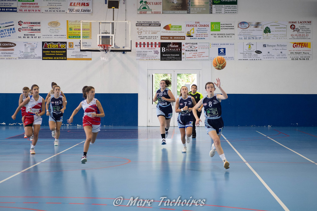 U18F Pré Région vs Basket Arrigans