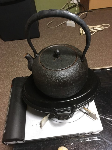 焼き栗と栗ご飯!