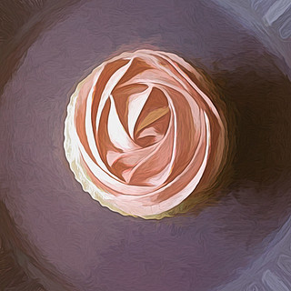 Cupcake In Abstract | by mrsshecky