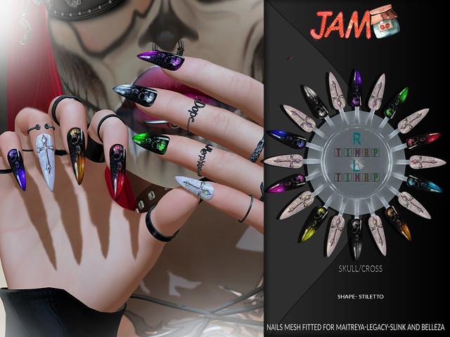 JAM Nails SkullCross