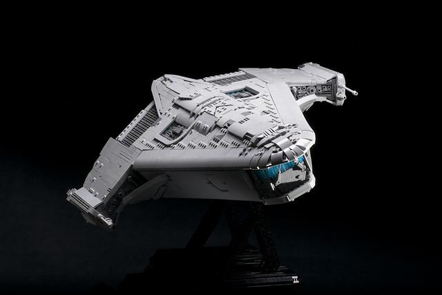 LEGO X-70B Phantom-class Prototype - Star Wars: The Old Republic MOC