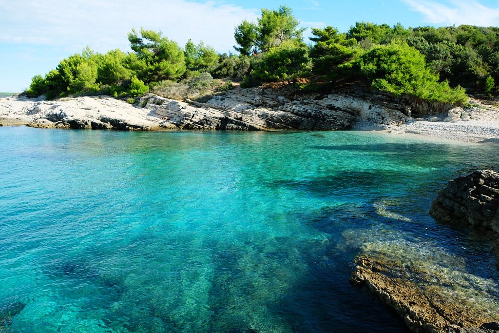 Plovanije Beach, Cape Kamenjak Nature Park, Istria, Croatia