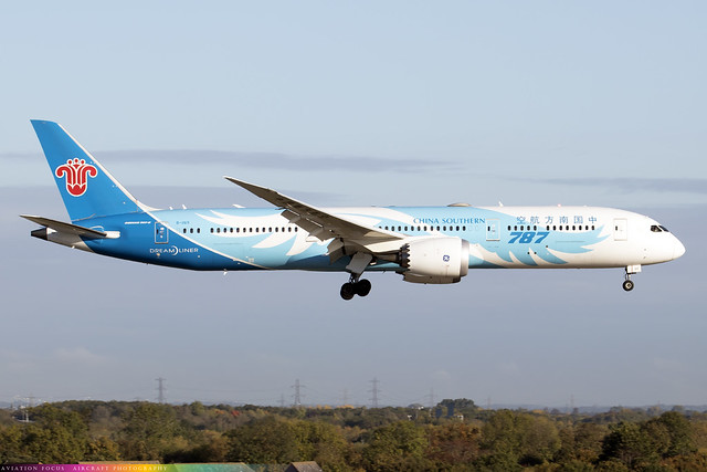 B-1169  -  Boeing 787-9 Dreamliner  -  China Southern  -  LHR/EGLL 16/10/20