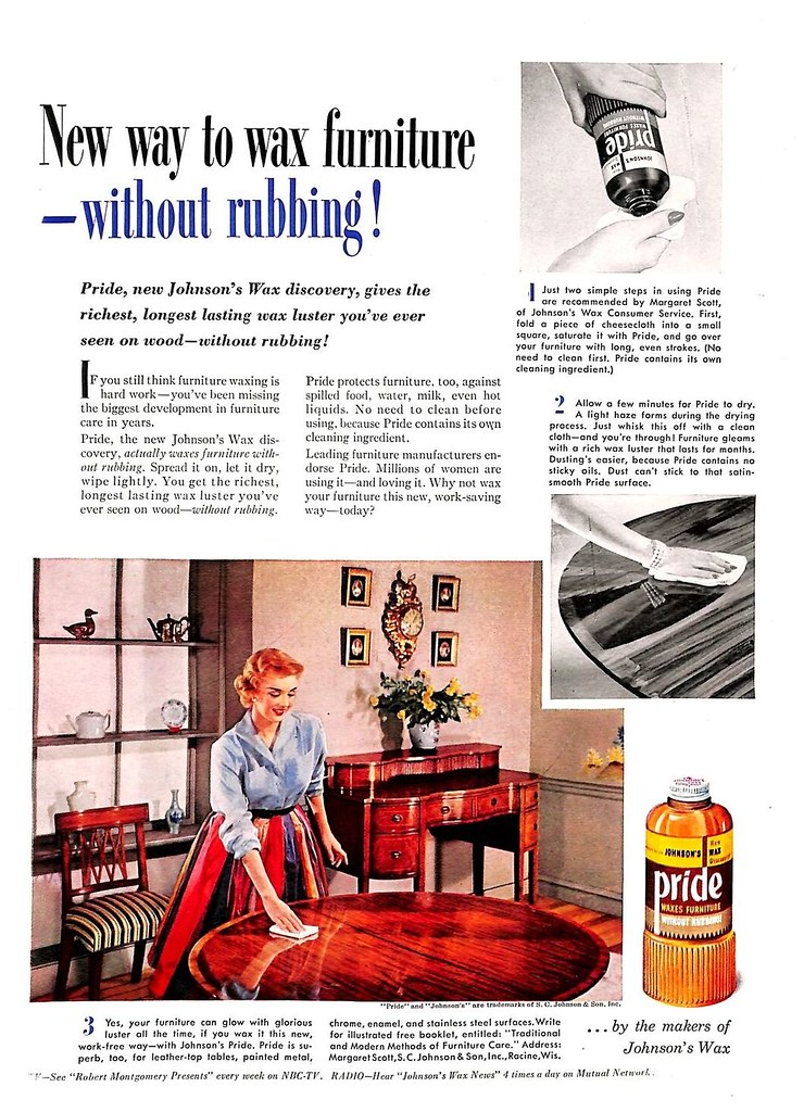 Johnsons Pride 1952