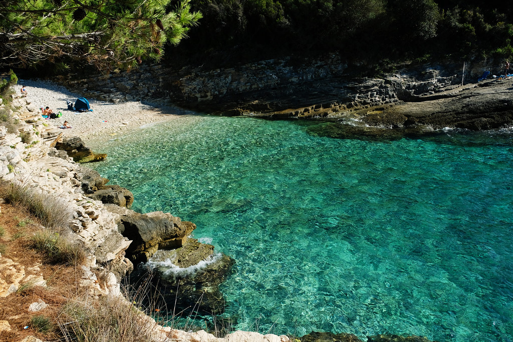 Radovica Beach, Cape Kamenjak Nature Park, Istria, Croatia