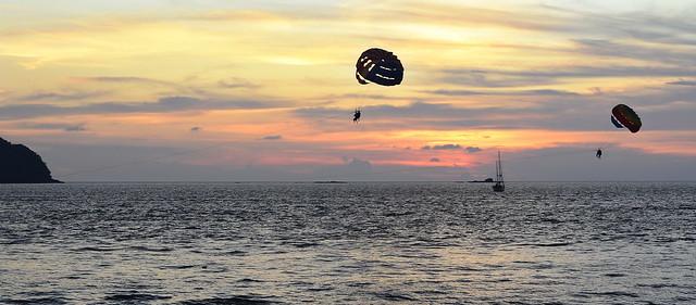 Sunset in Pantai Tengah  Beach / Langkawi island