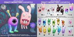 SEmotion Libellune Crazy Monsters Animesh