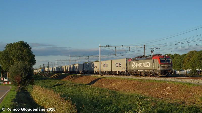 16/10/20 - PKP Cargo EU46 515 - Zaltbommel