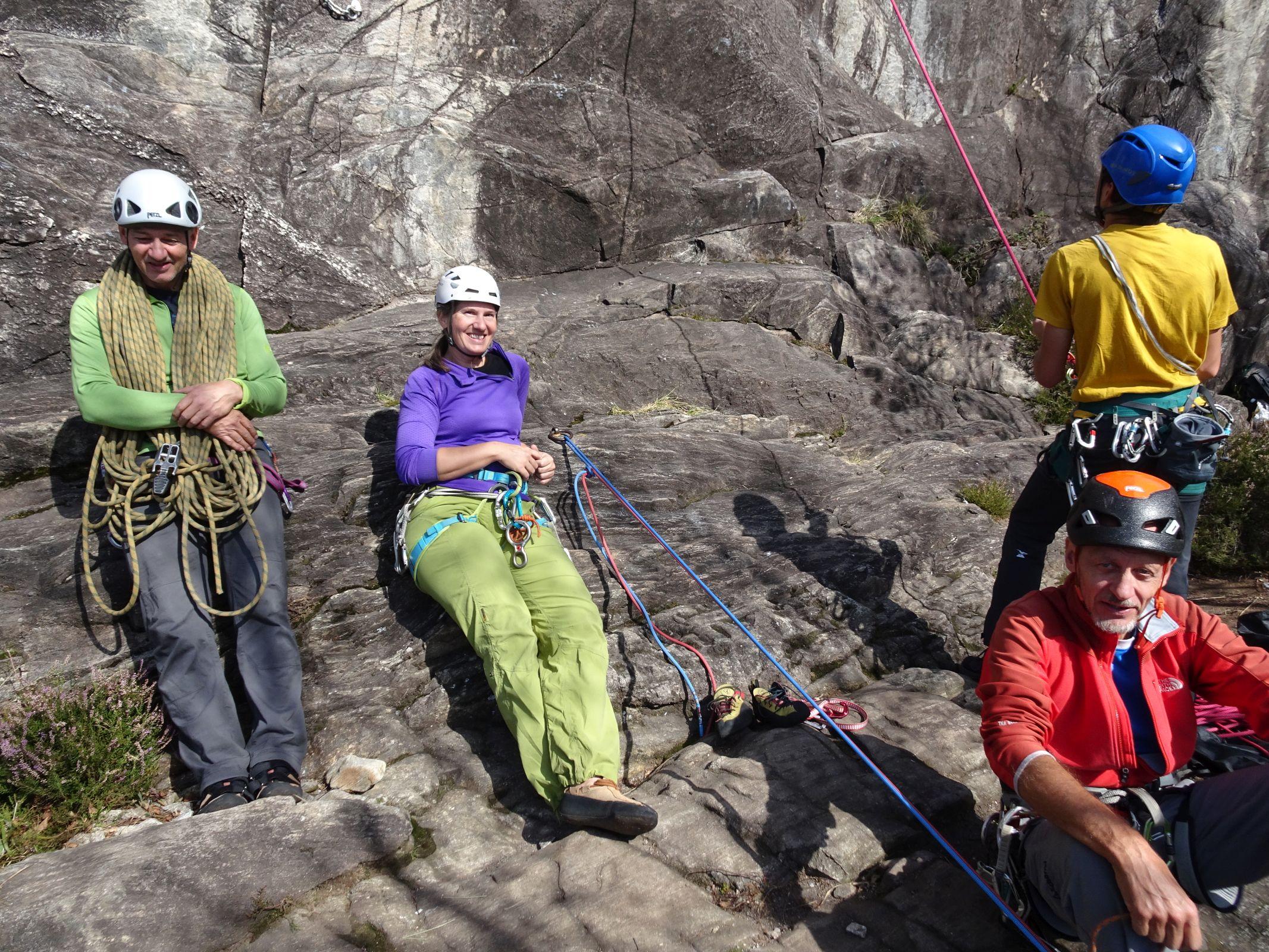 Kletterwoche Tessin 11. - 16.10.2020
