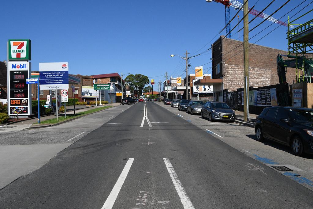 Tramway Strip, Hurlstone Park, Sydney, NSW.