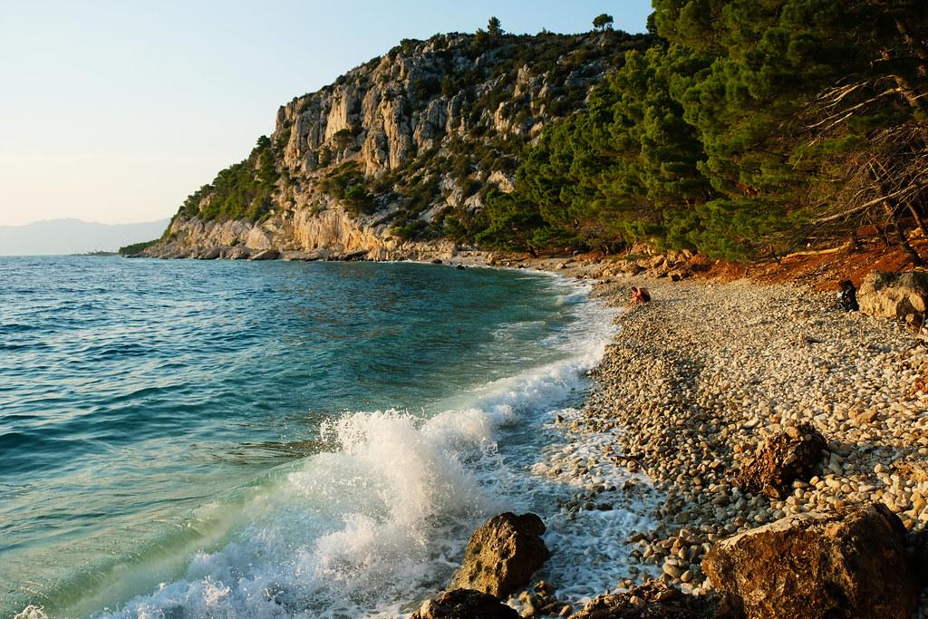 Ramova Beach, Makarska, Croatia