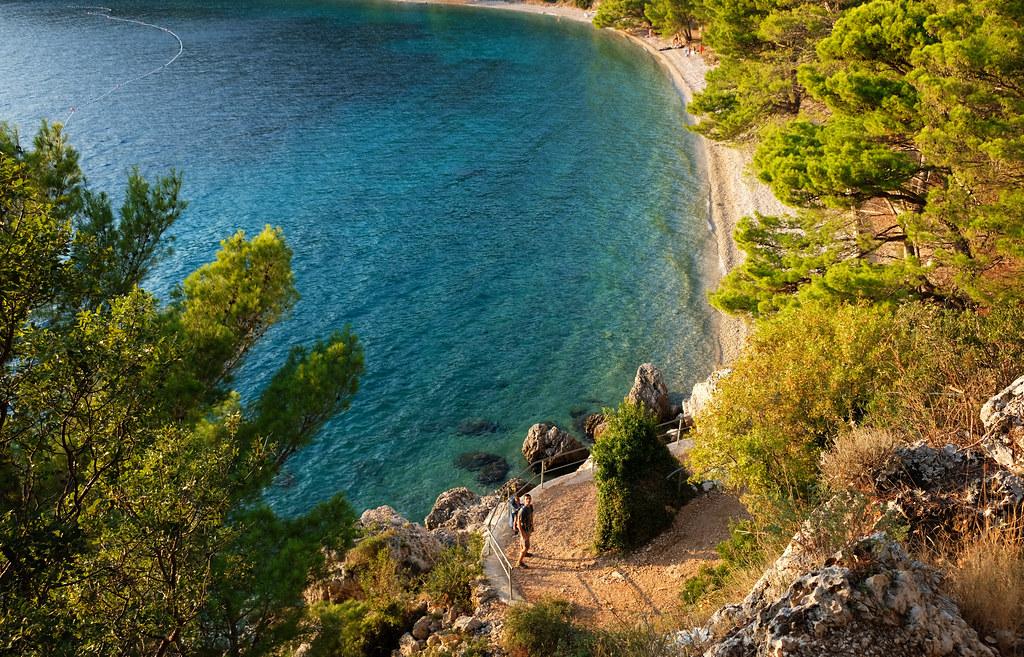 Velika Duba Beach, Makarska Riviera, Croatia
