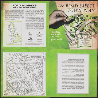 The Dunlop Rubber Company, Birmingham ; The Road Safety Town Plan, c1955 | by mikeyashworth