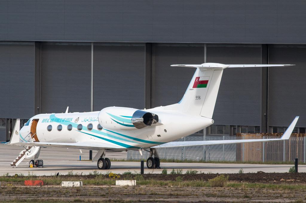 Gulfstream 4 - Royal Air Force of Oman - 558