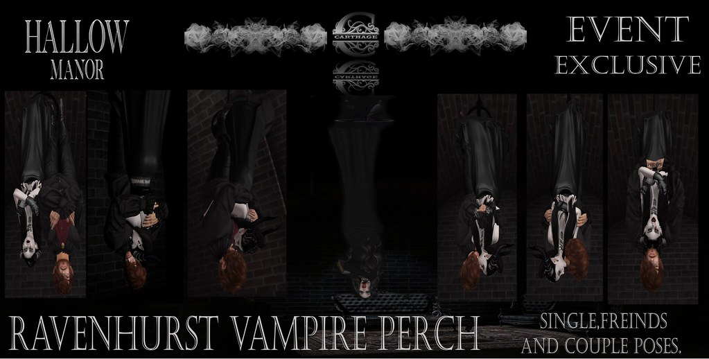 Ravenhurst perch Hallow Manor Exclusive item